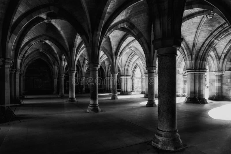 Glasgow University Cloisters photos stock