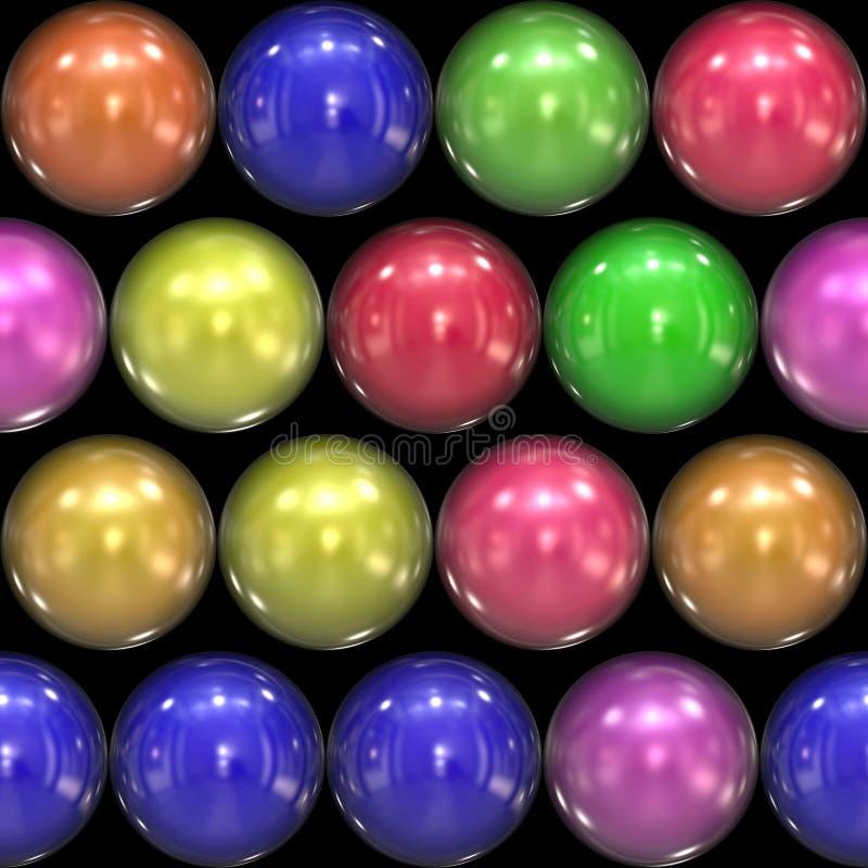 Glasige Kugeln 3D vektor abbildung