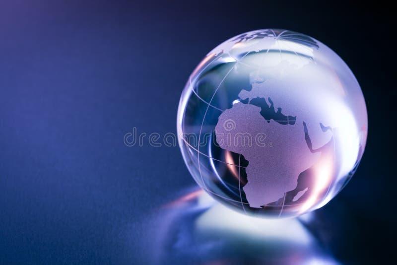 Glaskugel stockbilder