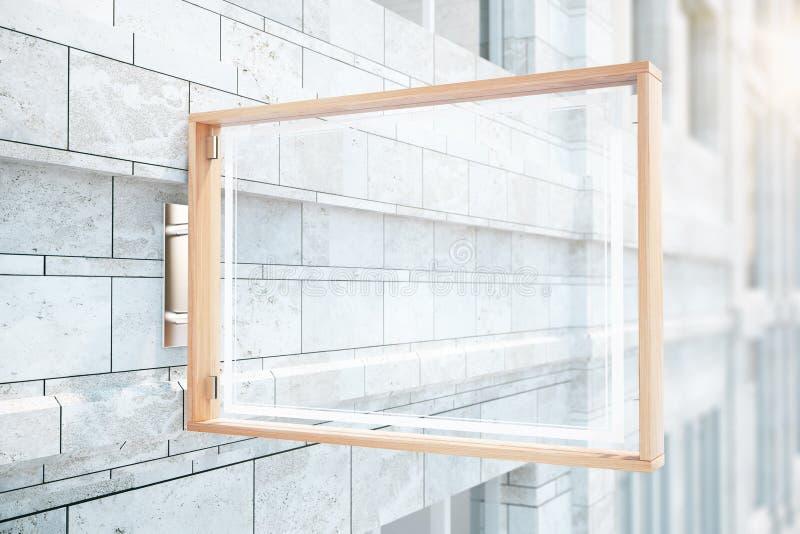 Glaskurk bij de bouw vector illustratie