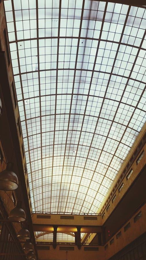 Glasplafond royalty-vrije stock afbeeldingen