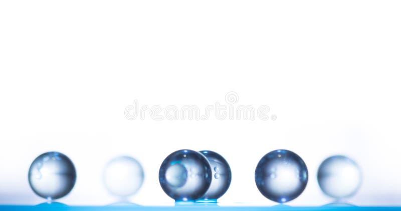 Glasplaneten stock afbeelding