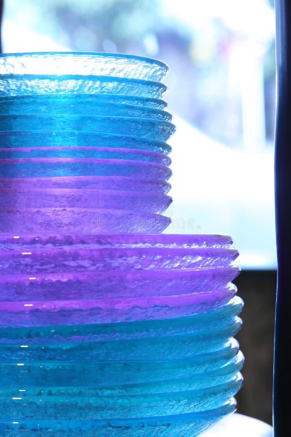 Glasplaten stock afbeeldingen
