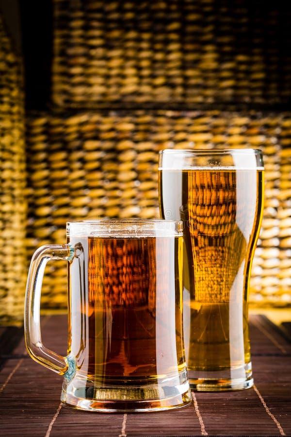 Glass öl arkivbilder