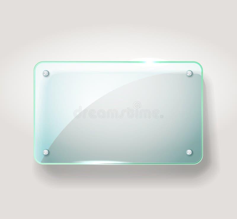 Glass Advertising Board Stock Photos