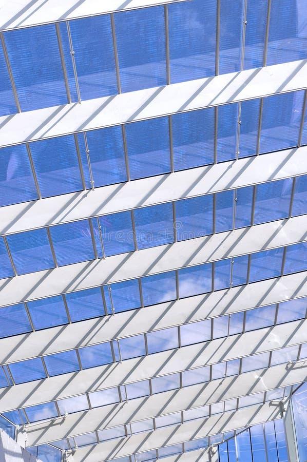 Glass Atrium Stock Photo