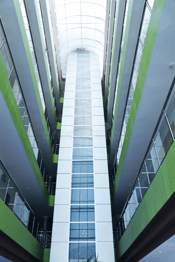 Glass balkonger arkivbilder