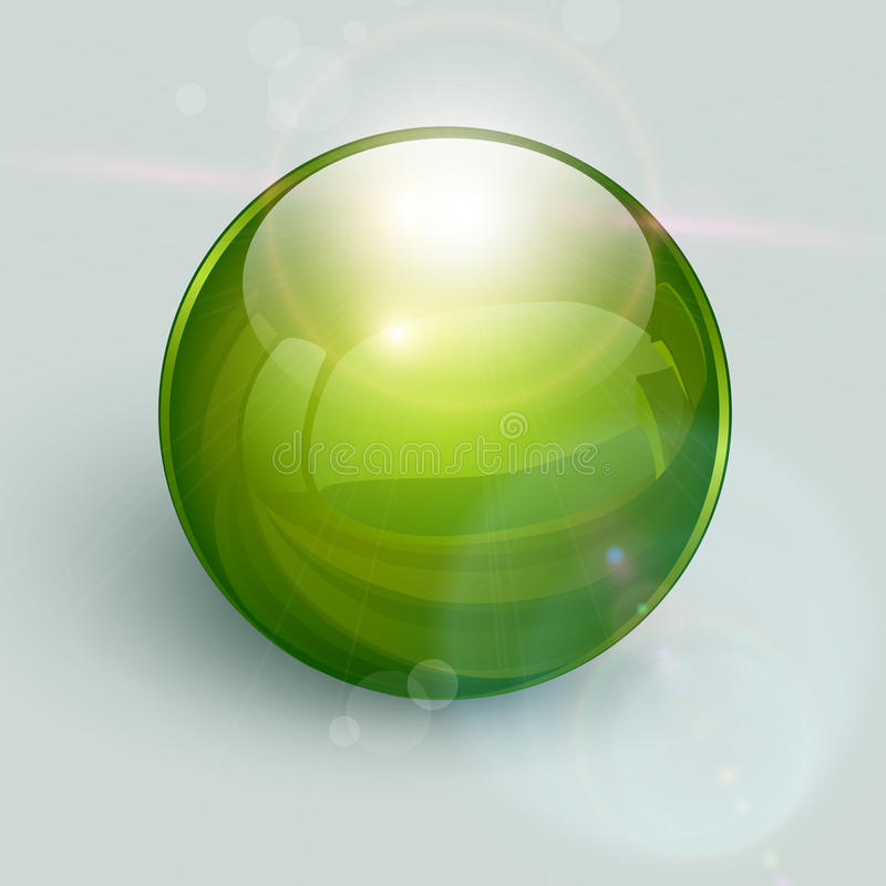Free Glass Ball Background Royalty Free Stock Image - 25964616
