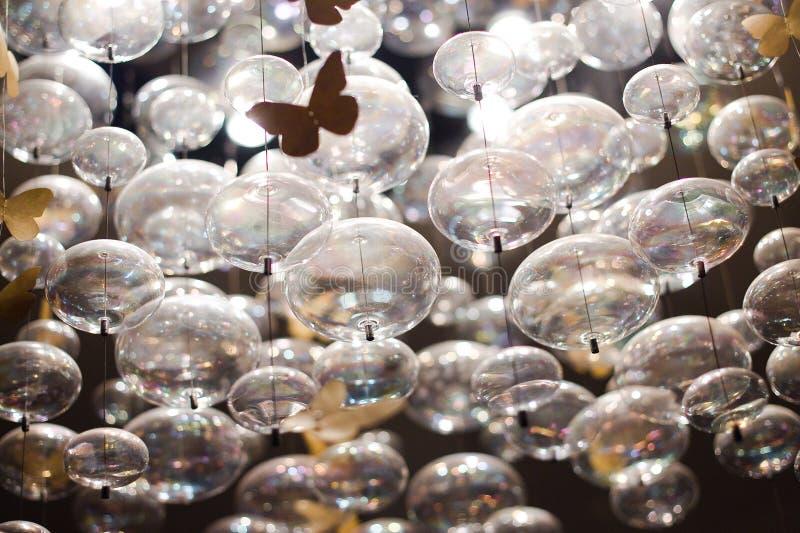 Glass Balls Stock Photography
