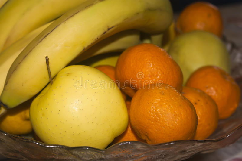 Download Glass Basket Of Fresh Fruits Stock Image - Image: 25431641