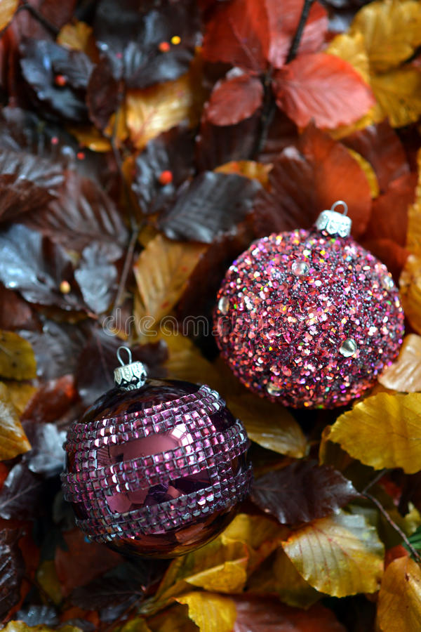 Download Glass baubles stock photo. Image of yellow, glass, christmas - 82456486