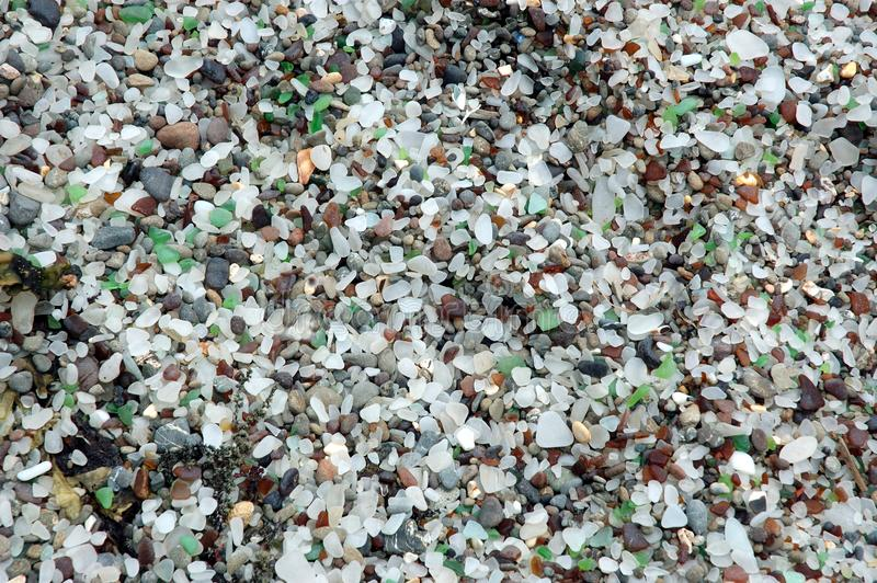Glass Beach 1 Stock Image