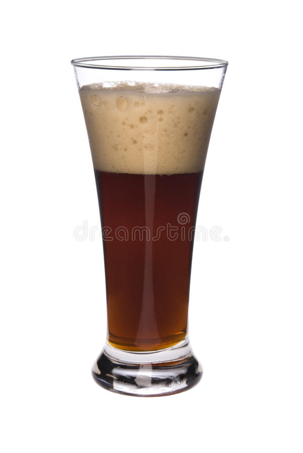 Download Glass of Beer stock photo. Image of white, background - 9396538