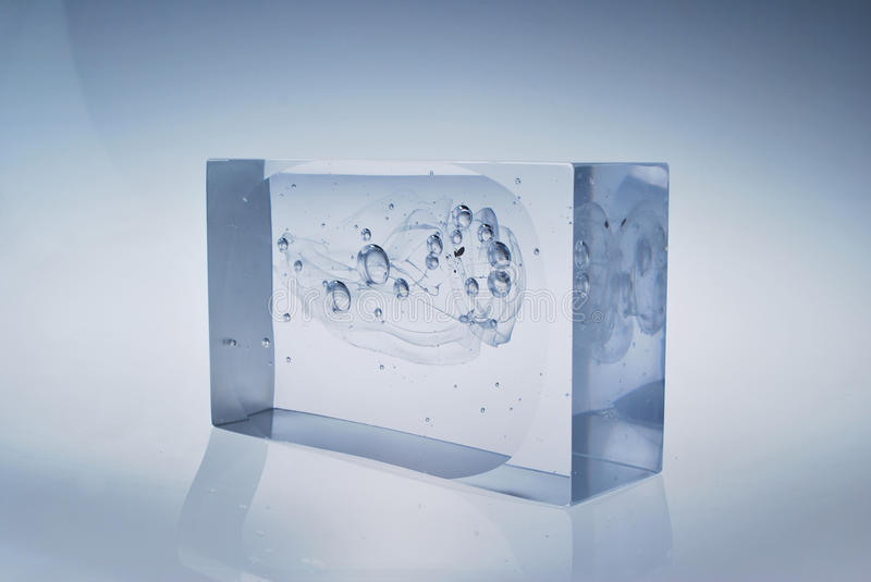 Glass Block royalty free stock photo