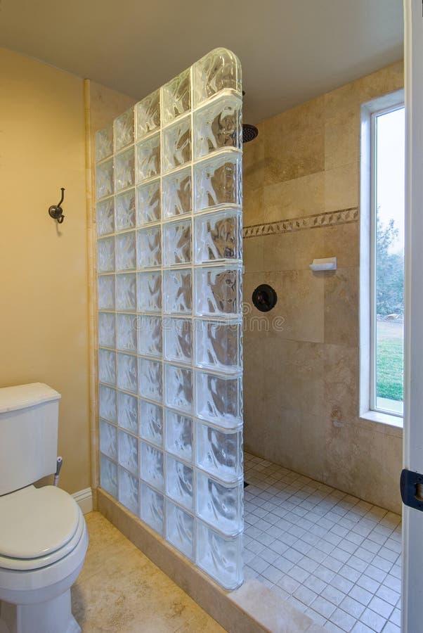 Free Glass Block Bathroom Stock Images - 18531114