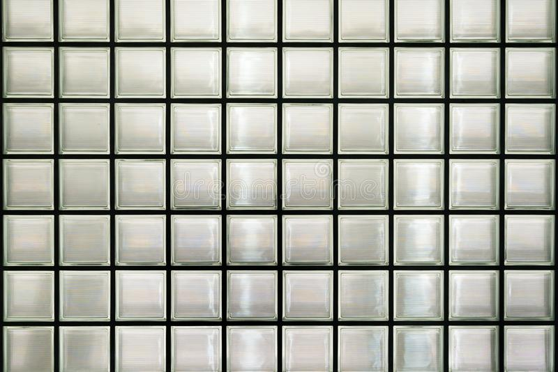 Glass block wall royalty free stock images
