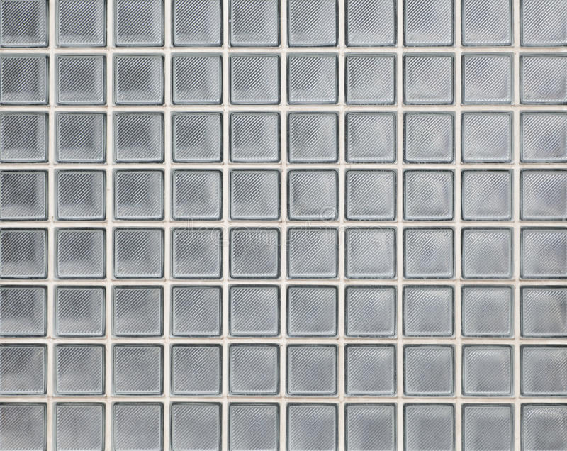 Seamless Block Wall : Glass block wall texture and background stock image