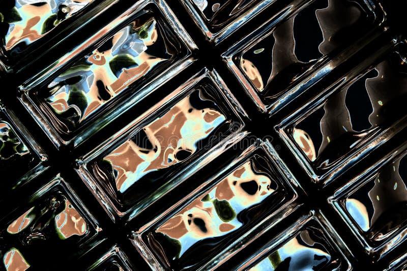 Glass blocks stock photography