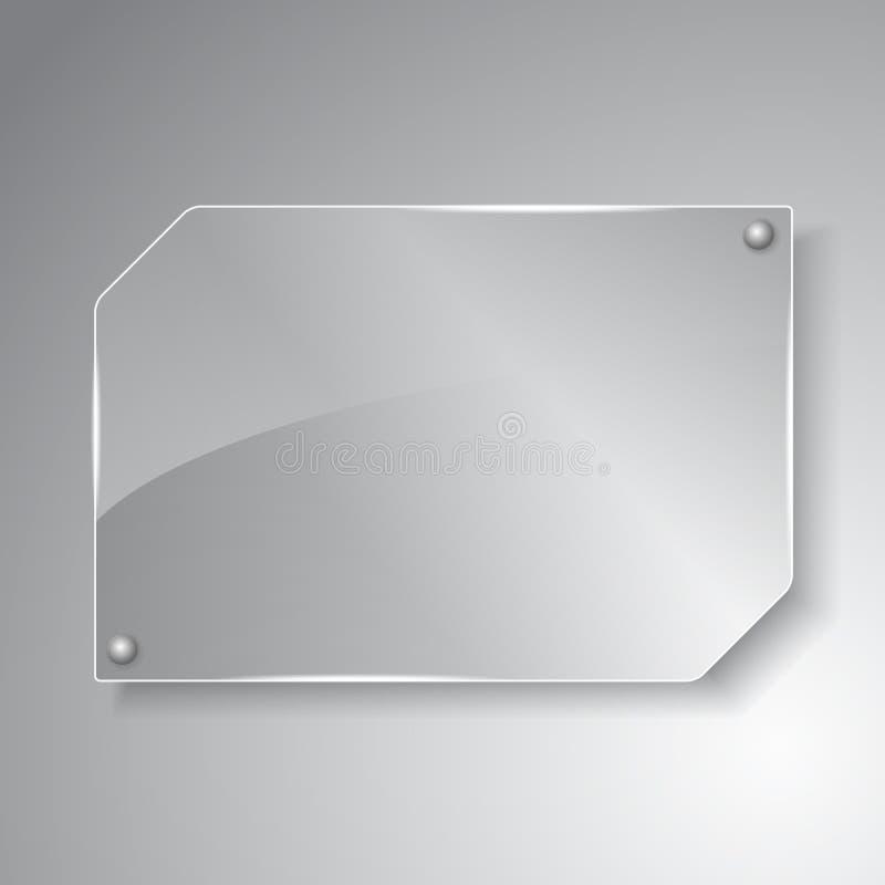 Glass Board stock illustration