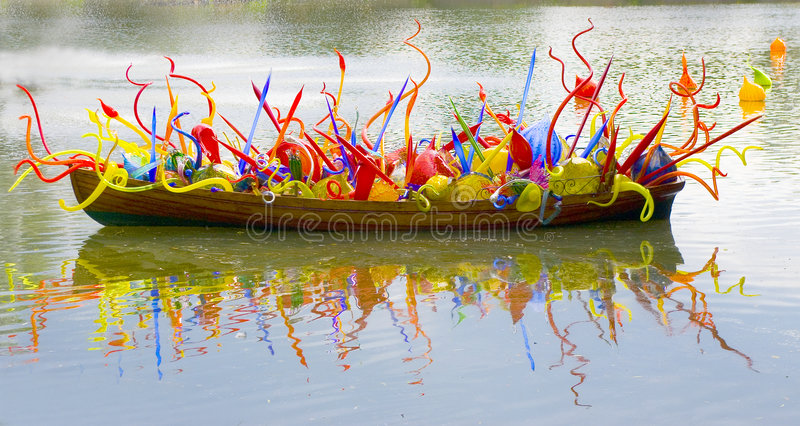 Download Glass Boat stock photo. Image of colours, colour, floats - 1707544