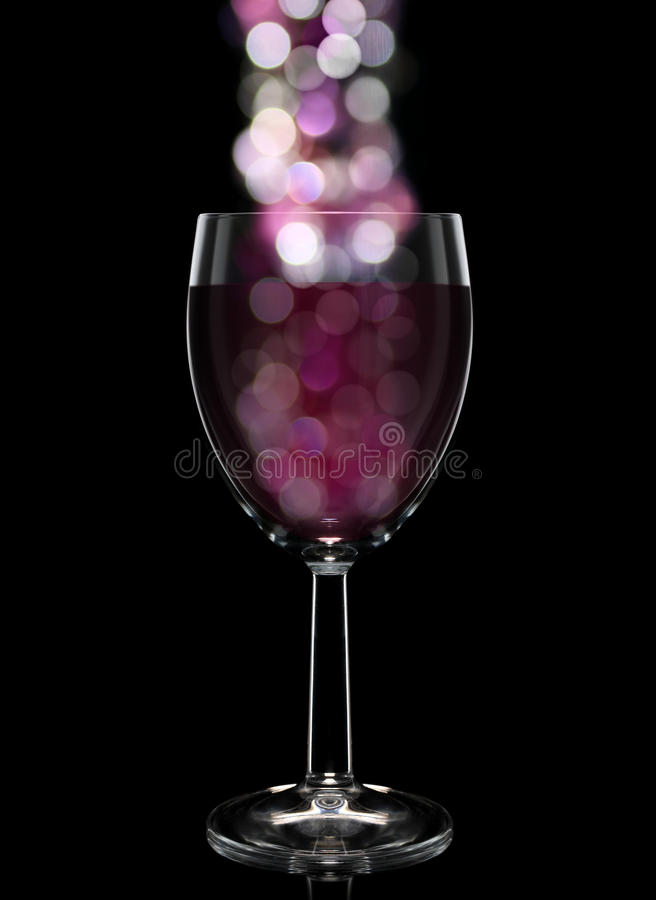 Download Glass with bokeh stock image. Image of black, isolated - 28513383