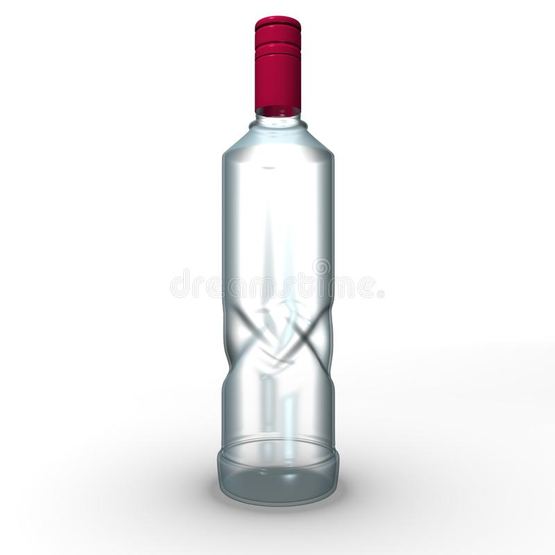 Download Glass bottle stock illustration. Illustration of flasket - 11334185