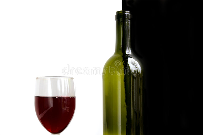Download Glass and bottle stock photo. Image of anniversary, black - 535700