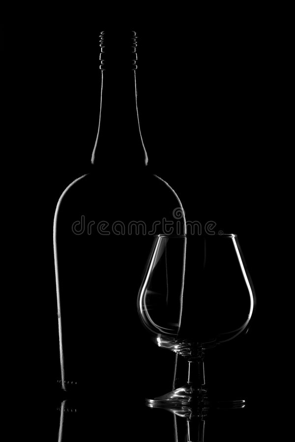 Download Glass and bottle stock photo. Image of reflection, reflecting - 8952754