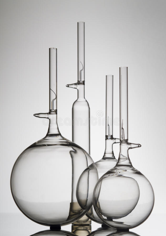 Download Glass bottle and flasks stock image. Image of chemical - 12149745