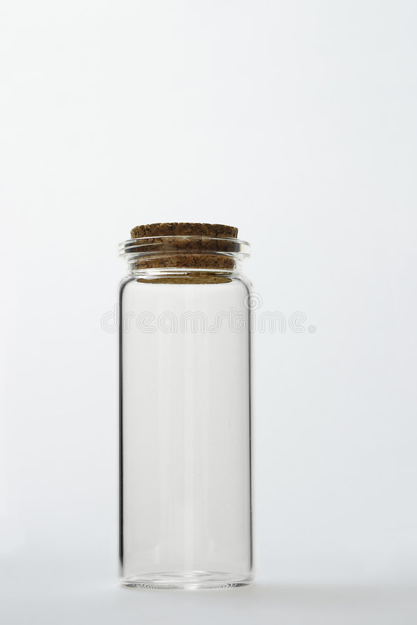 Free Glass Bottle With Cork Stopper Stock Photo - 9314580
