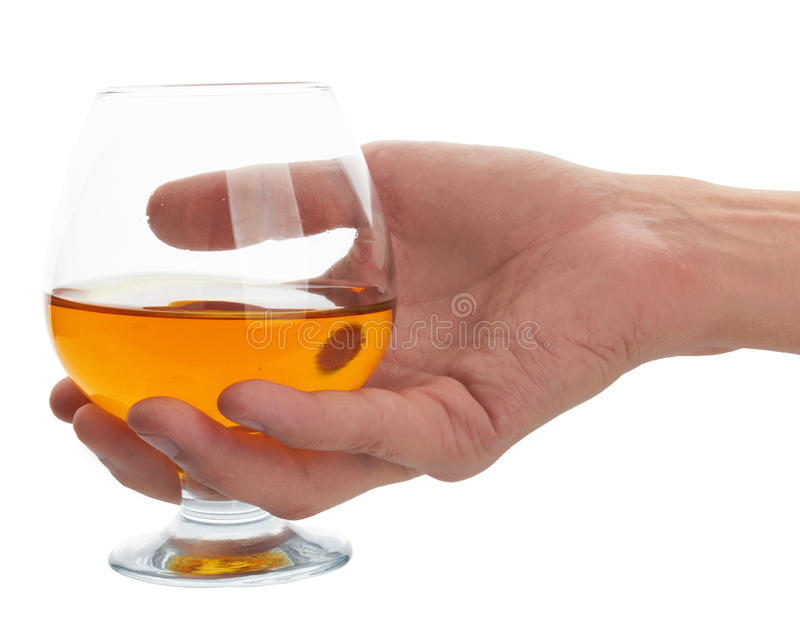 Download Glass of brandy stock photo. Image of relax, elegant - 23589434