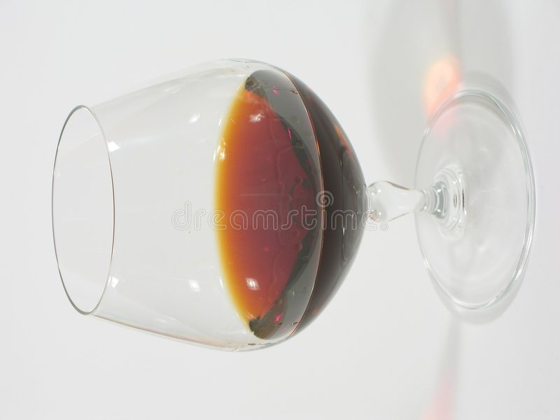 Download Glass with Brandy I stock image. Image of details, alcohol - 16743
