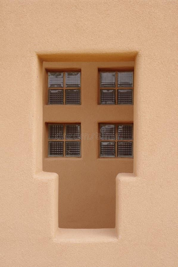 Glass Brick Window Stock Images