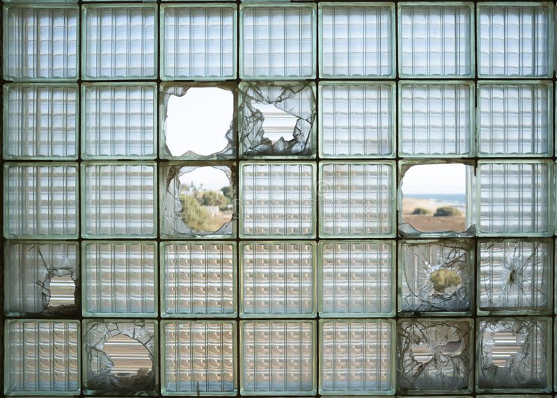 Glass bricks blocks stock image image of backdrop for Exterior glass wall texture