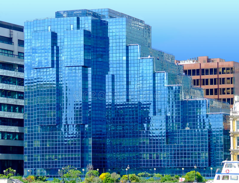 Download Glass Building Royalty Free Stock Images - Image: 1722269