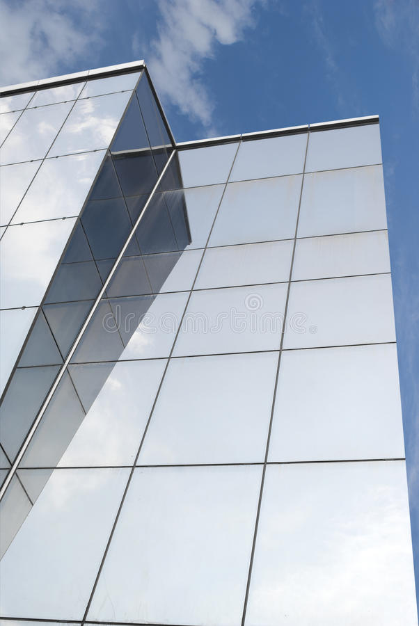 Glass building stock images
