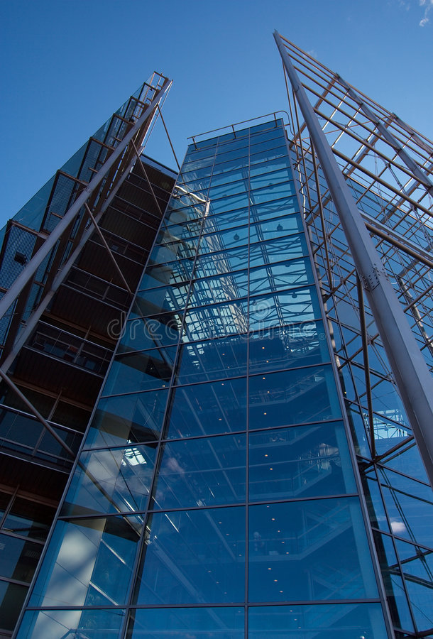 Download Sanomatalo, Tall Glass Office Building Stock Image - Image: 4562843