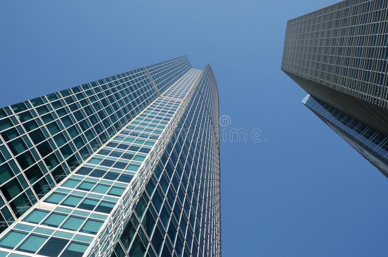 Glass Buildings Royalty Free Stock Image