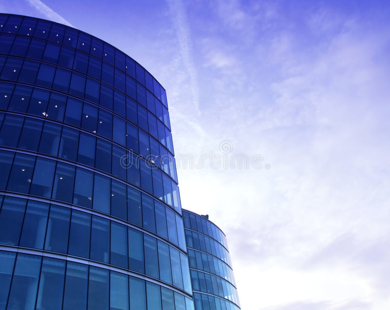 Download Glass Buildings 34 stock photo. Image of premises, success - 1322412