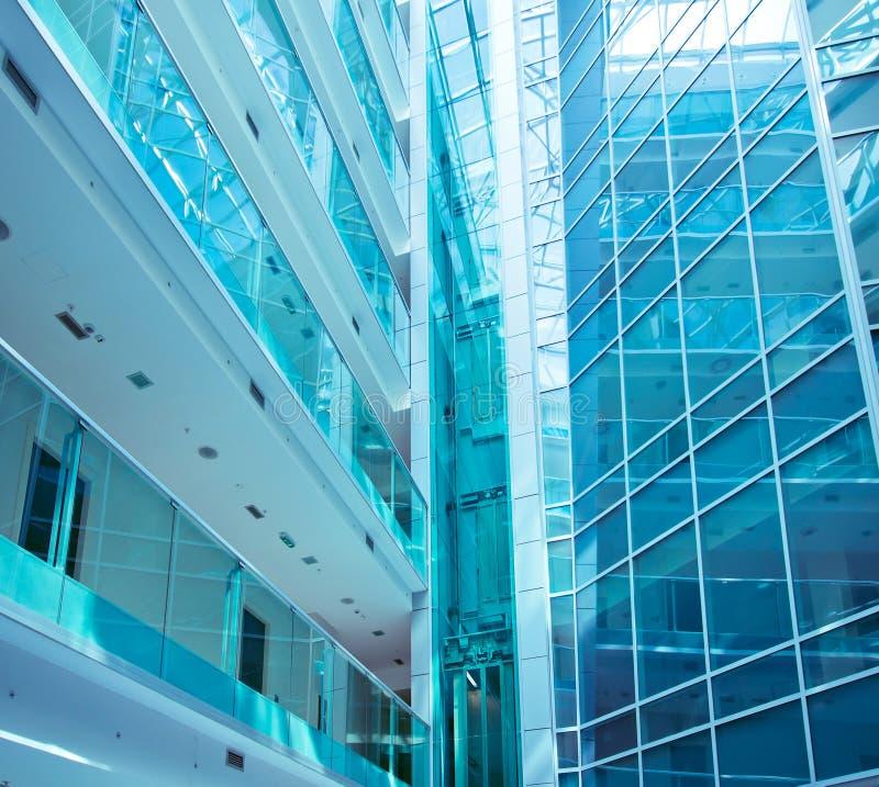 Glass byggnad royaltyfri foto