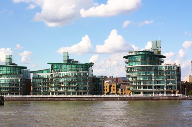 glass byggnader royaltyfria bilder