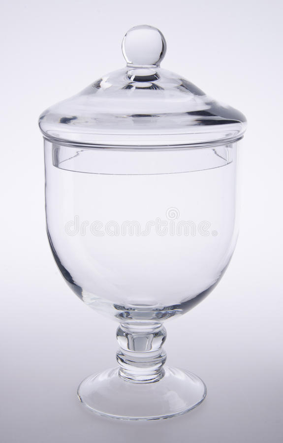 Free Glass Candy, Cookie Jar On Background Stock Photography - 27214332