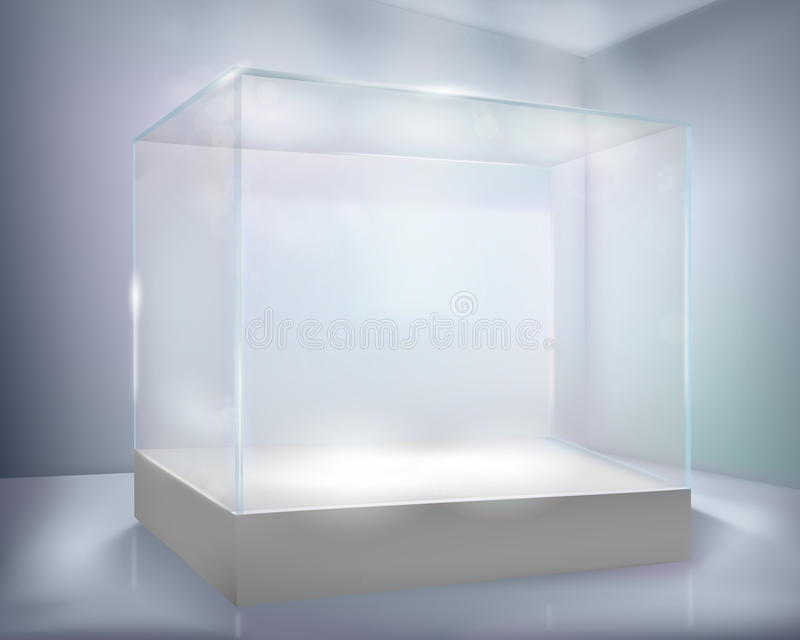 Glass-case Royalty Free Stock Images