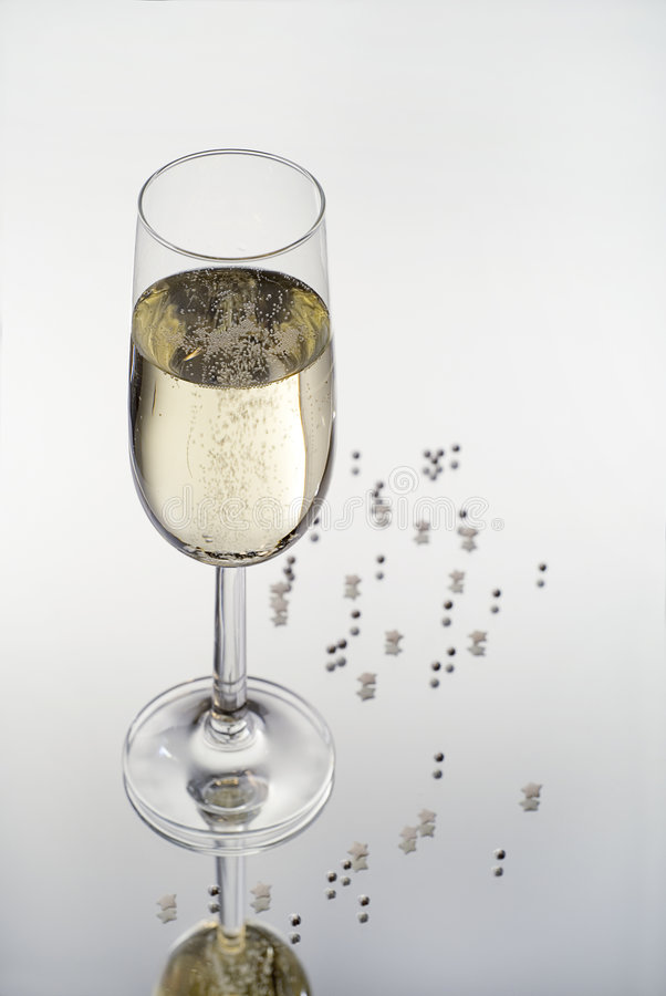 Download Glass of champagne stock photo. Image of dessert, object - 1884810