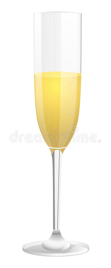 Glass of champagne stock photos