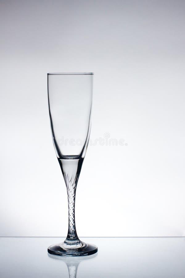 Glass of champange stock image