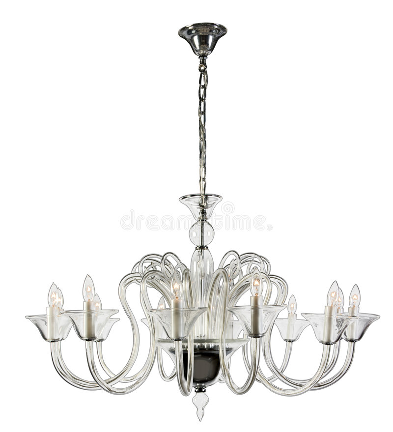 Free Glass Chandelier Royalty Free Stock Photos - 3556998