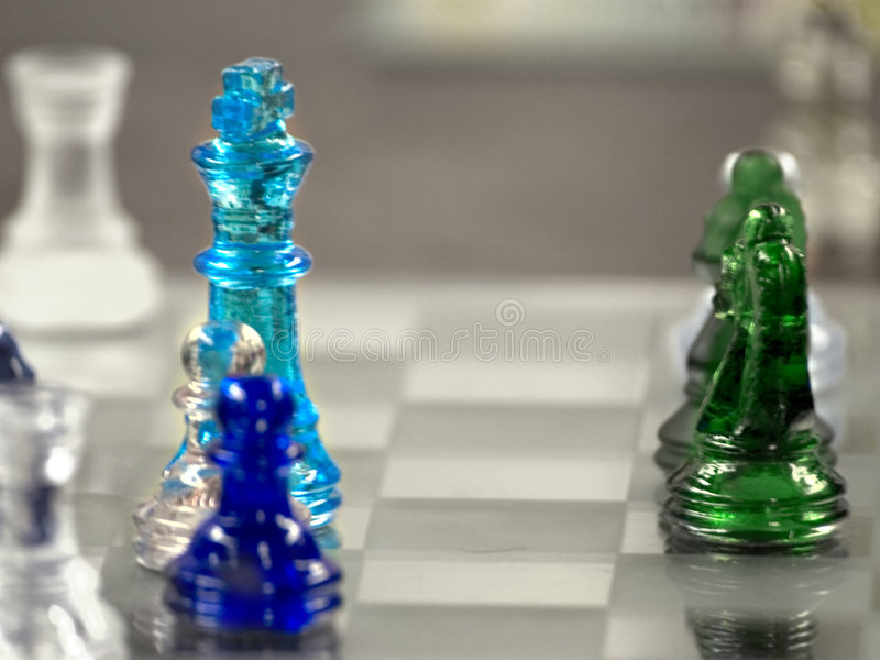 Download Glass Chess Blur stock photo. Image of board, glass, abstract - 104736