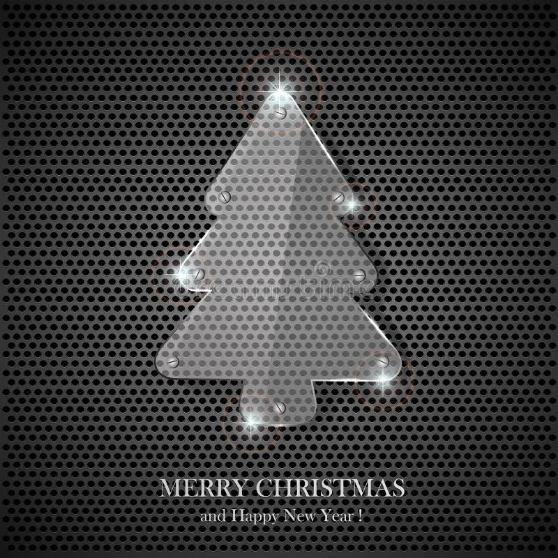 Free Glass Christmas Tree Royalty Free Stock Image - 28074996