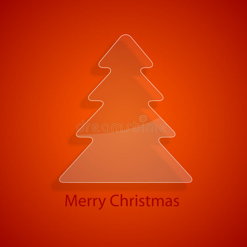 Download Glass Christmas Tree Royalty Free Stock Photography - Image: 28342037
